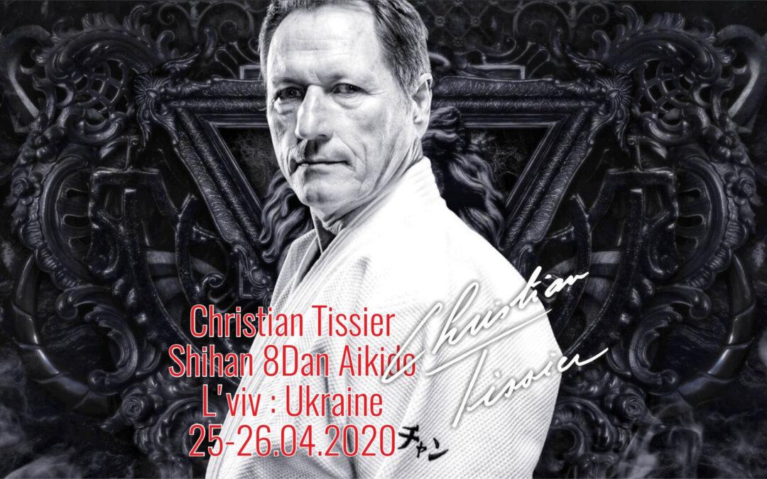 Міжнародний семінар з Шиханом Крістіаном Тіссьє 8 Дан Айкідо